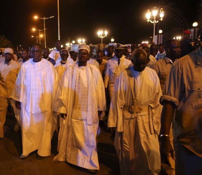 Sérigne Bass Abdoukhadre et le président Macky Sall