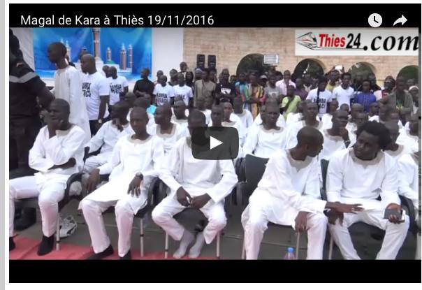 "Vidéo : Magal de Serigne Modou Kara à Thiès : ""Macky Sall est très chanceux"""