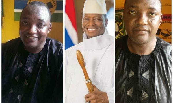 Gambie : les cinq bourdes stratégiques d'Adama Barrow qui ont fait changer d'avis Yahya Jammeh