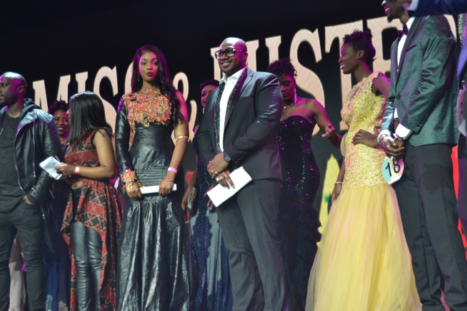 Fatou Mbaye remporte la couronne de Miss Senegal France 2017.