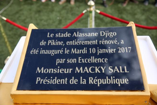 Revivez en images I'inauguration du stade Alassane Djigo de Pikine