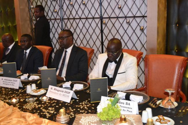 CAURIS D'OR: Arrivé du Président du MDES Mbagnick Diop accompagné par la délégation du gouvernement.