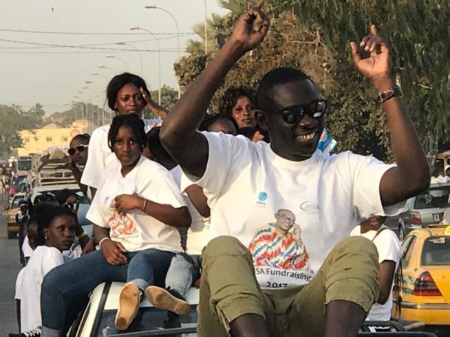 21 22 23 AVRIL, L' accueille de Pape Diouf en Gambie.