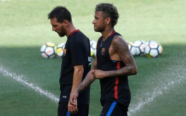 «Je t'aime beaucoup» : les adieux de Messi et Neymar sur les réseaux sociaux