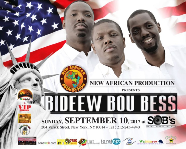 Bideew Bou Bess concert at S.O.B.'s in New York on Sunday, September 10.