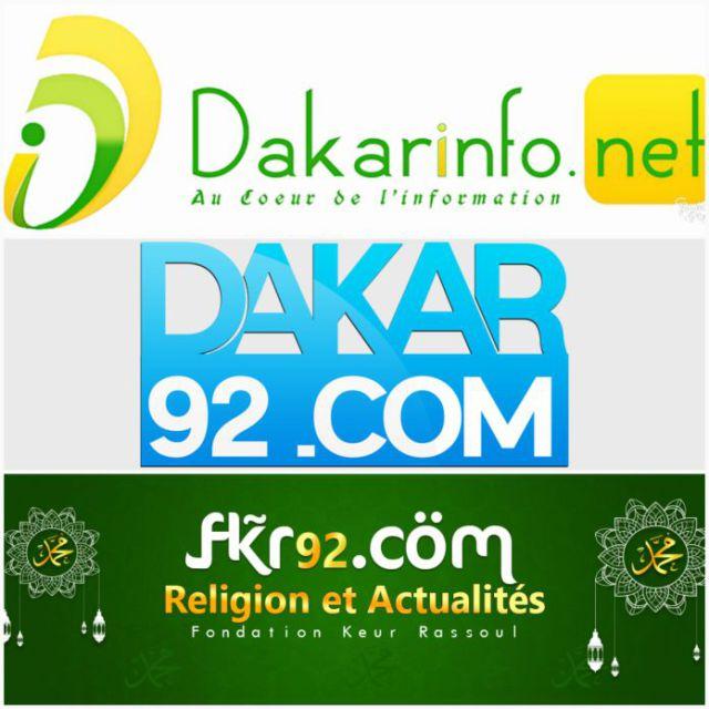 Rassoul Média: propriétaire de DAKAR92.COM, DAKARINFO.NET et FKR92.COM compte plus de 2 millions d'abonnés sur facebook. Vous pouvez nous suivre aussi sur Twitter et Instagram