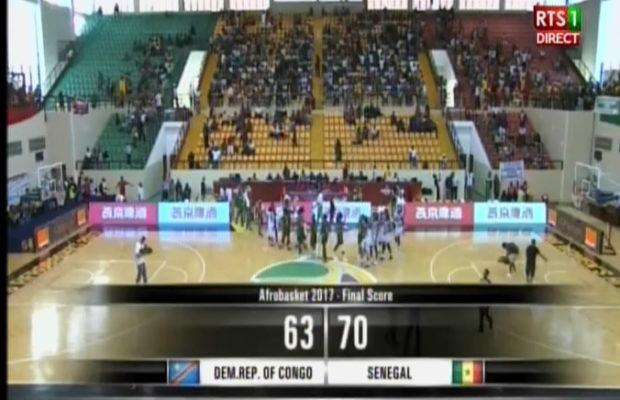 Afrobasket 2017 : Carton plein pour le Sénégal face à la RDCongo (70 – 63) … Regardez