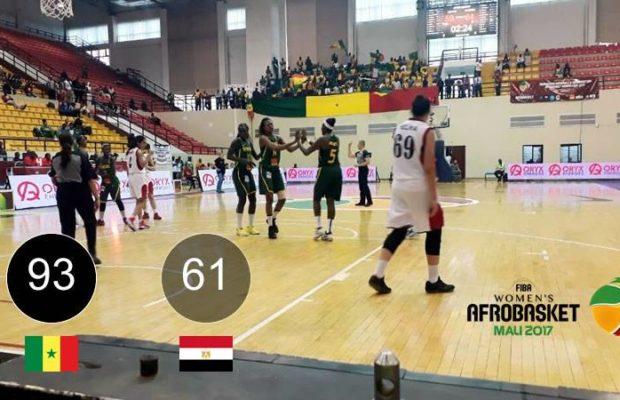 Vidéo- 93 – 61 : Les Lionnes du basket en roue libre face à l'Egypte