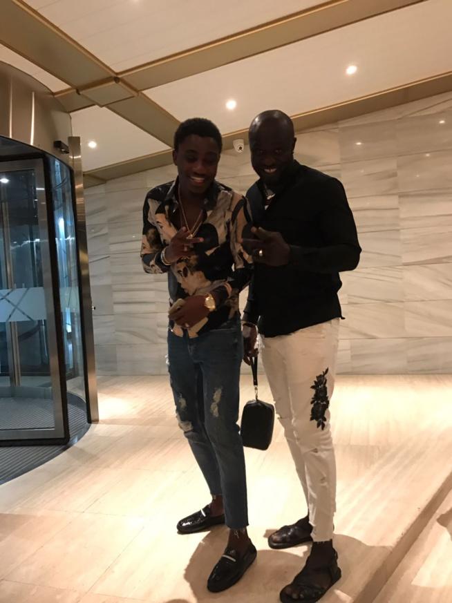 Le Gap le Parisien savoure ses moments de détentes à IBIZA en Espagne en compagnie de Kha Ndiaye Zidane pour le show de Waly Seck;