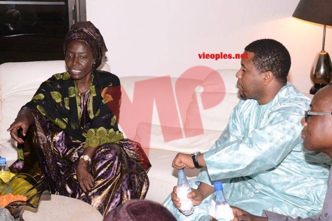 Le PDG de D- MEDIAS, Bougane Guéye présente ses condoléances à la diva Coumba Gawlo.