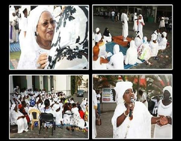 """Impuissantes, les """"femmes"""" de Khalifa Sall demandent la malédiction pour le Président Macky Sall"""