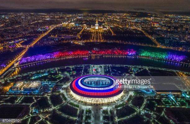 Coupe du monde 2018 voici le luzhniki stadium qui - Match d ouverture coupe du monde 2014 ...