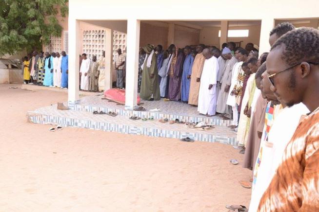 Le papa du chanteur Pape Diouf, Baye Cheikh Diouf repose désormais à Touba Darou Salam.