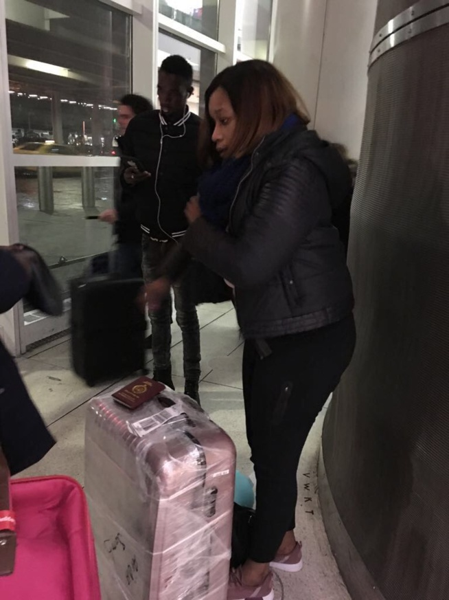 APAP NEW YORK 2018: Aida Samb arrive à l'aéroport John Federal Kennedy pour sa participation avec New African Production de Birane Sarr