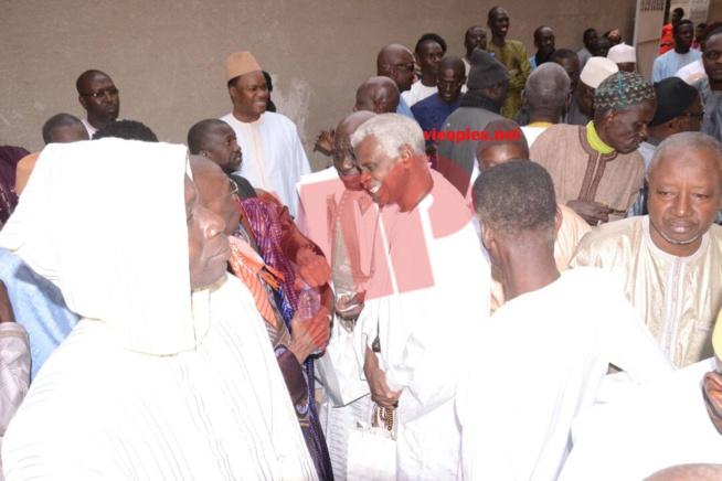 La cérémonie du mariage religieux de la fille de El Hadj Ndiaye Pdg 2STV chez Thierno Madani Tall à la Médina.