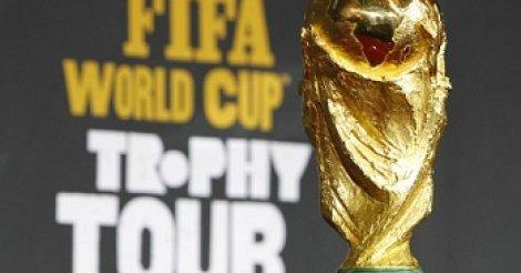 Le trophée de la Coupe du monde sera à Dakar le 11 mars prochain