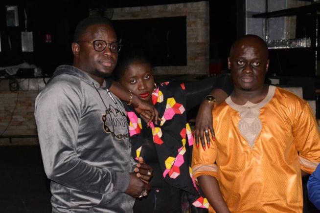 À jour j - 02 Pape Diouf à fond dans ses répétitions pour le grand jour de la nuit de la jeunesse au grand theatre.