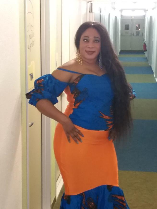 La chanteuse Sister Yaki de Bruxelle était au rendez-vous du Zenith.