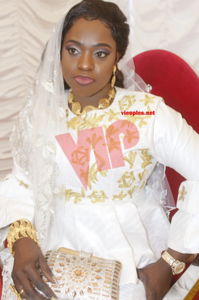 Voici la fille du président Mbagnick Diop qui se mariée hier.