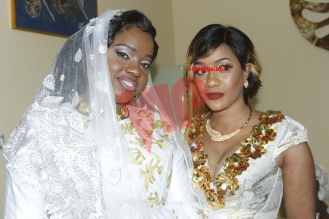 Bébé Basse Diouf au mariage de la fille du président Mbagnick Diop.