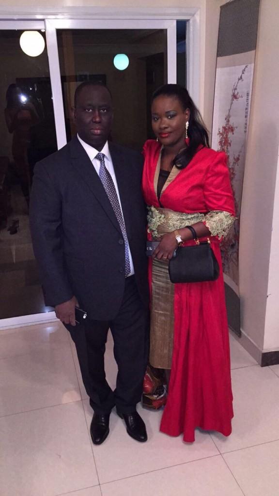 Photos : Aliou Sall et sa 2ème épouse Aïssatou Sall