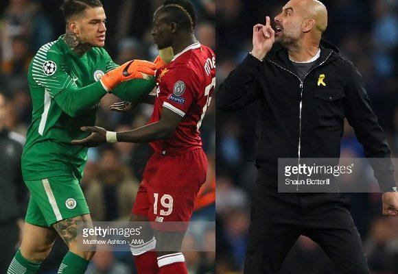 Pep Guardiola révèle ce qu'il a dit à l'arbitre avant son exclusion, Sadio Mane repoussé quatre fois par Ederson, le gardien de City mérite une…