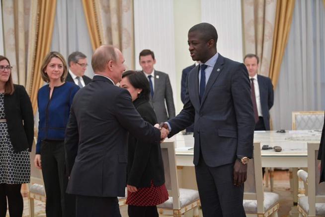 Mission d inspection du BIE Bureau International des expositions en Russie: Le Docteur Malick Diop choisit pour le Senegal.