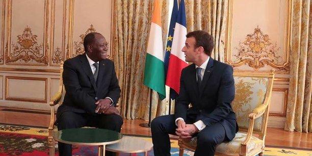 Côte d'ivoire : ADO plaide auprès de Macron pour que «son métro» siffle en 2021