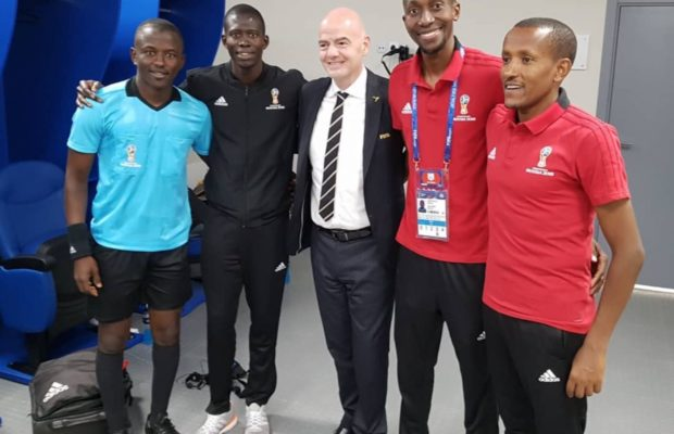 Costa Rica-Serbie (0-1) – Les arbitres sénégalais félicités par le président de la Fifa pour leur prestation