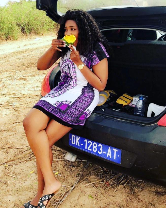 Migonne Dia, la ravissante fille de feu Demba Dia