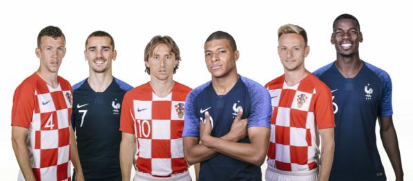 Finale Mondial 2018 : France - Croatie à 15:00, la revanche du Mondial 1998
