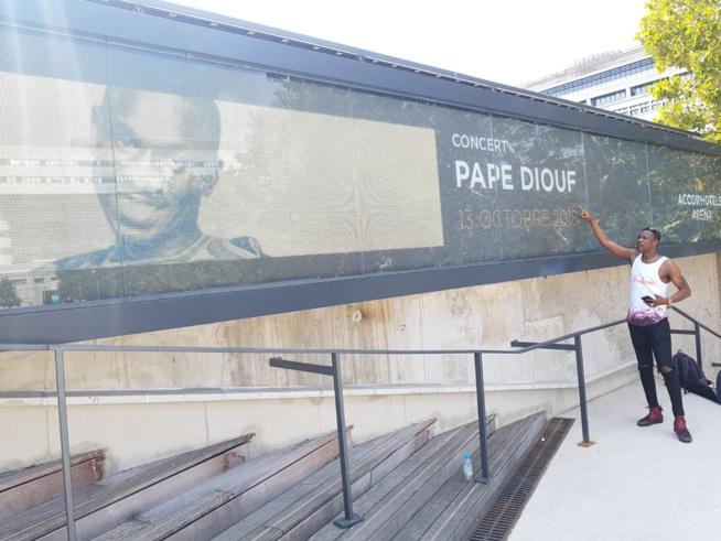 JOUR J - 85: En direct de Accor Hotel Arena Paris Bercy avec Pape Diouf et la génération Consciente, Tange lance le Défi à Paris. REGARDEZ