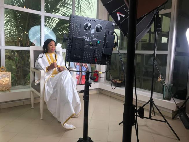 PHOTOS ET VIDEO: Teaser du tournage de la nouvelle vidéo explosive du futur Adja Aby Ndour. REGARDEZ