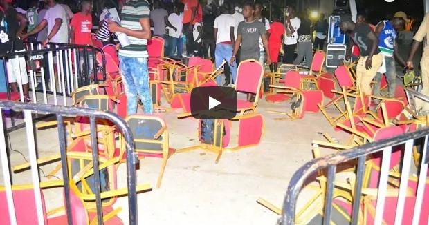 Face à face Balla Gaye 2-Modou Lô : Les images choquantes des violences qui ont failli gâcher la fête