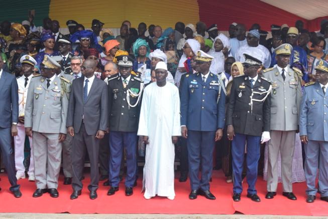 Installation de Cheikh Sène dans ses fonctions de nouveau Haut Commandant de la Gendarmerie nationale et Directeur de la justice militaire