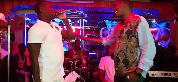 Vidéo : Duo explosif entre Pape Diouf et Alioune Mbaye Nder au …Regardez