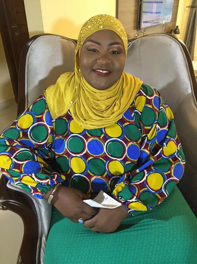 Anniversaire de la chroniqueuse Marianne Siva Diop de la TFM
