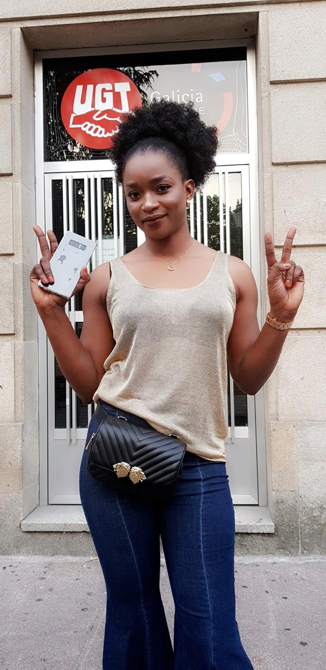 La Diva, Maria la Sénégalaise la plus influente dans le milieu de la jet-sett Espagnol croque la vie à 100%