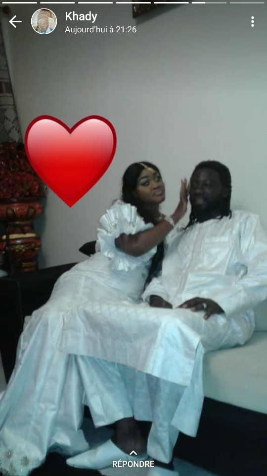 La danseuse Kadia s'est mariée.