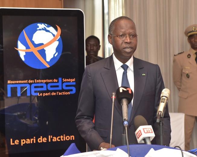 MEDS - le Premier Ministre Mahamad Bou A. Dione a présidé hier à l'hôtel Radisson Blu la 18eme session des Assises Economiques du MEDS.