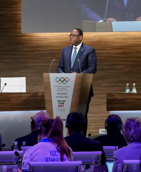 JOJ Dakar 2022: Le Message du Président Macky Sall devant le Comité international olympique