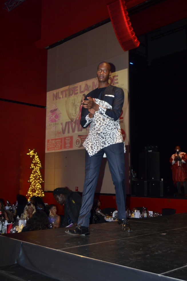 Défilé de AWA KERMEL BY FASHION nuit de la mode panafricaine à Luxembourg.