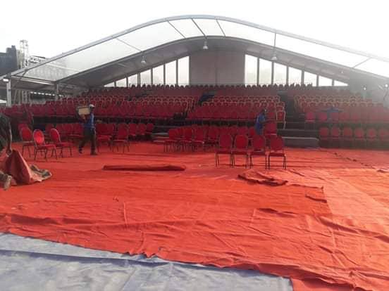 CICES prêt pour accueillir la Méga-star Youssou Ndour ce samedi 05 Janvier. En images