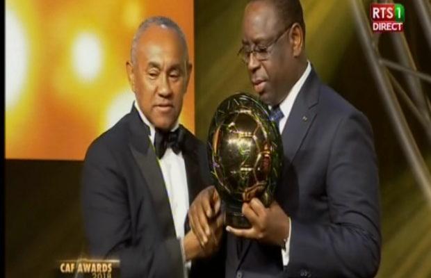 Caf Awards 2018 – Le président Macky Sall donne son avis sur le Ballon d'Or africain…