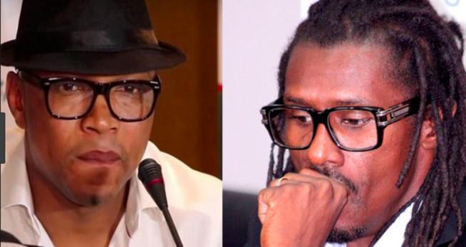 Match des Légendes: Violente altercation entre El Hadji Diouf et Aliou Cissé dans les vestiaires
