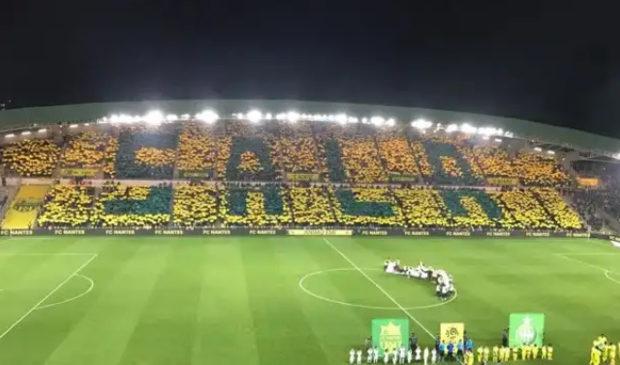 Le vibrant hommage du FC Nantes à l'Argentin Emiliano Sala suite a sa disparution