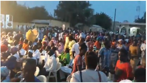 Direct: la foule quitte un meeting de APR …pour Ousman Sonko à Dahra Djolof