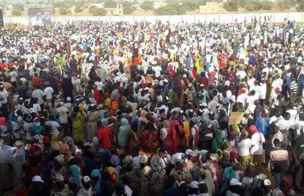 Après Malem-Hodar et Kaffrine, Youssou Ndour accueilli en fanfare à Koungheul
