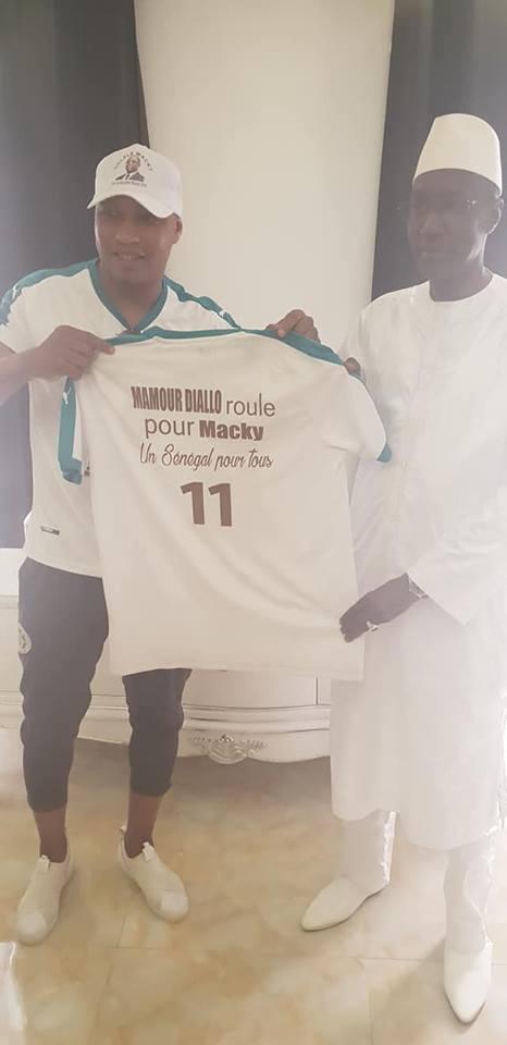 Mamour Diallo et El Hadji Diouf pour la réélection du Président Macky Sall dès le 1er tour
