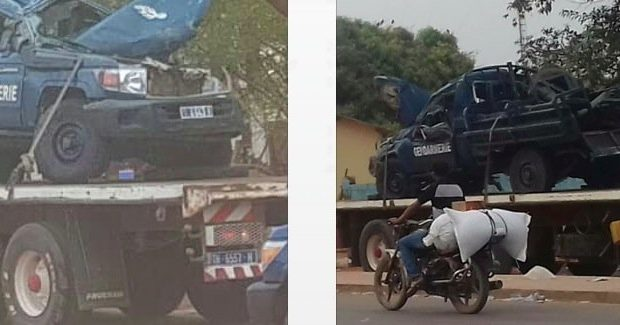 Accident du véhicule de la gendarmerie: Les blessés évacués à Dakar via Ziguinchor